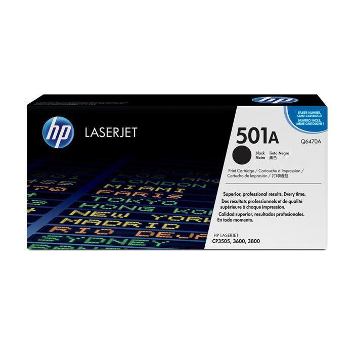 Toner HP 501A Preto Laserjet Original (Q6470A) 08945