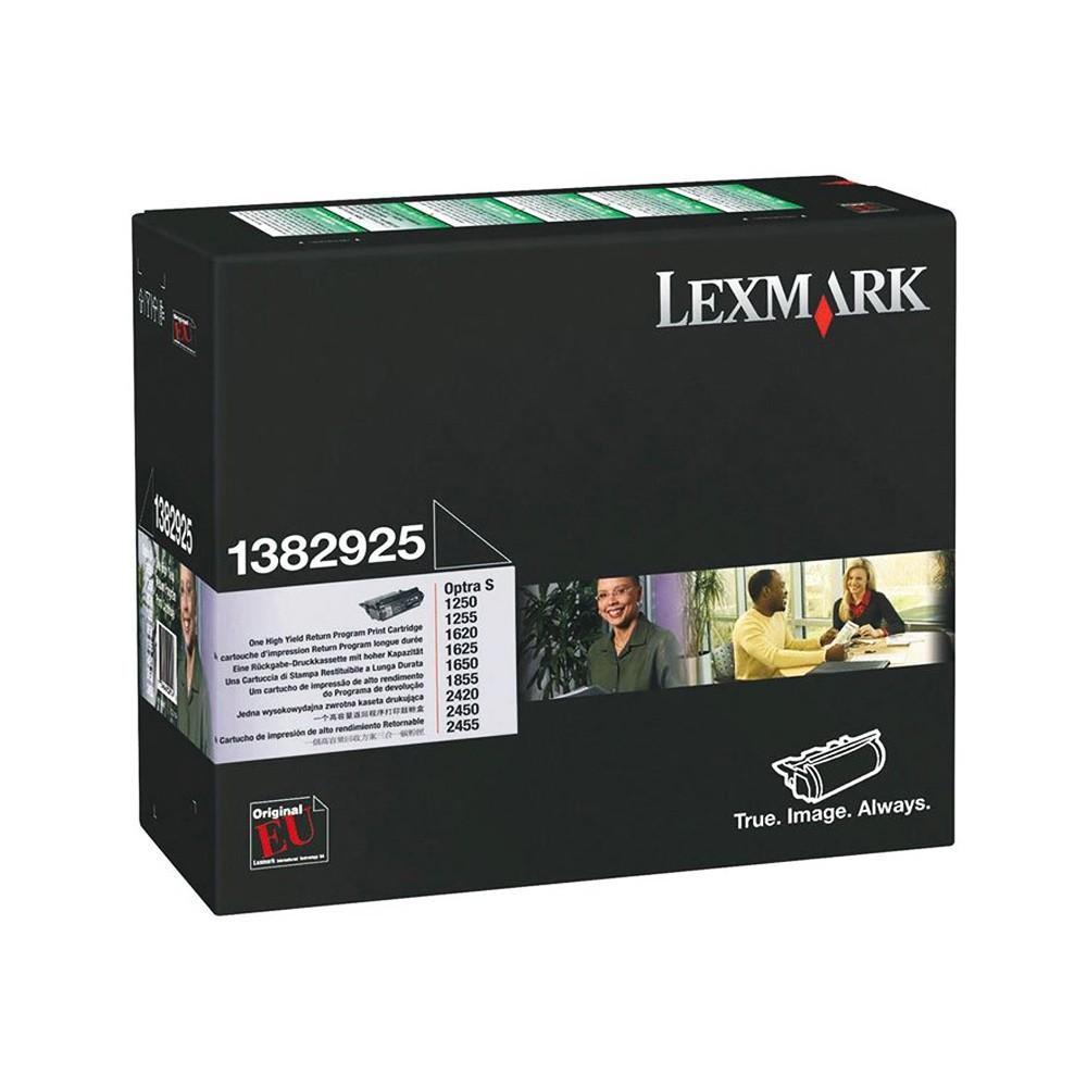 Toner Lexmark 1382925 Preto 00397