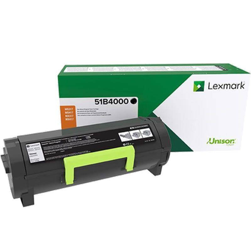 Toner Lexmark 51B4000 Preto 25053