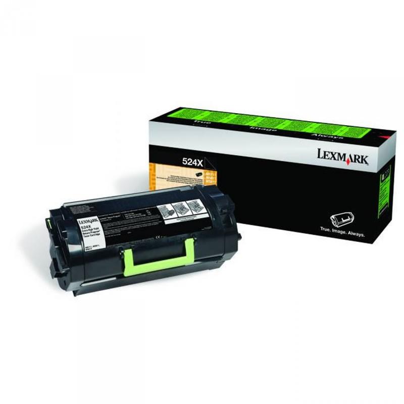 Toner Lexmark 52DBX00 Preto 20787
