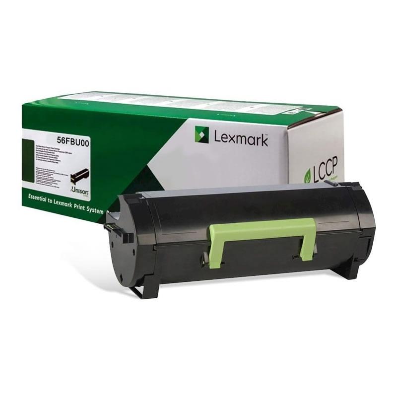 Toner Lexmark 56FBU00 Preto 27446