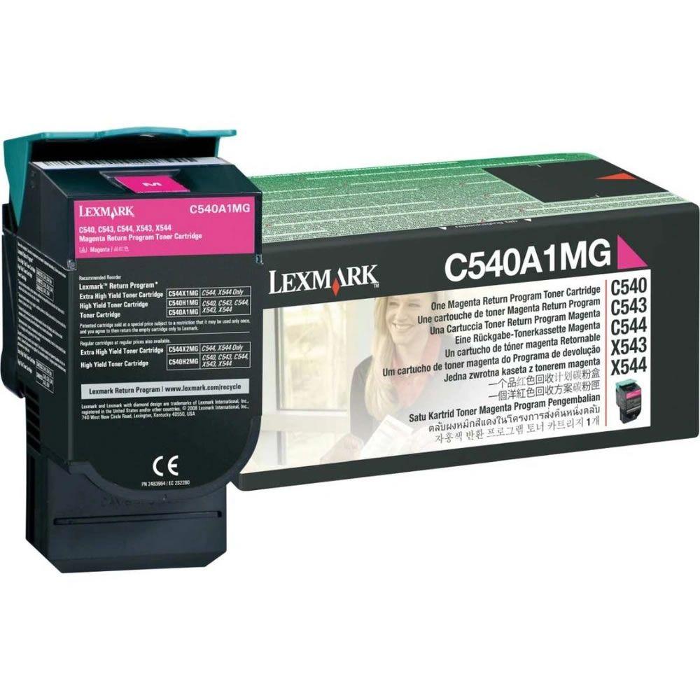 Toner Lexmark C540A1MG Magenta 13462