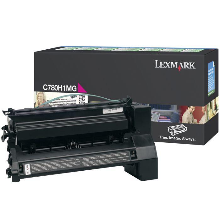 Toner Lexmark C780H1Mg Magenta 13657