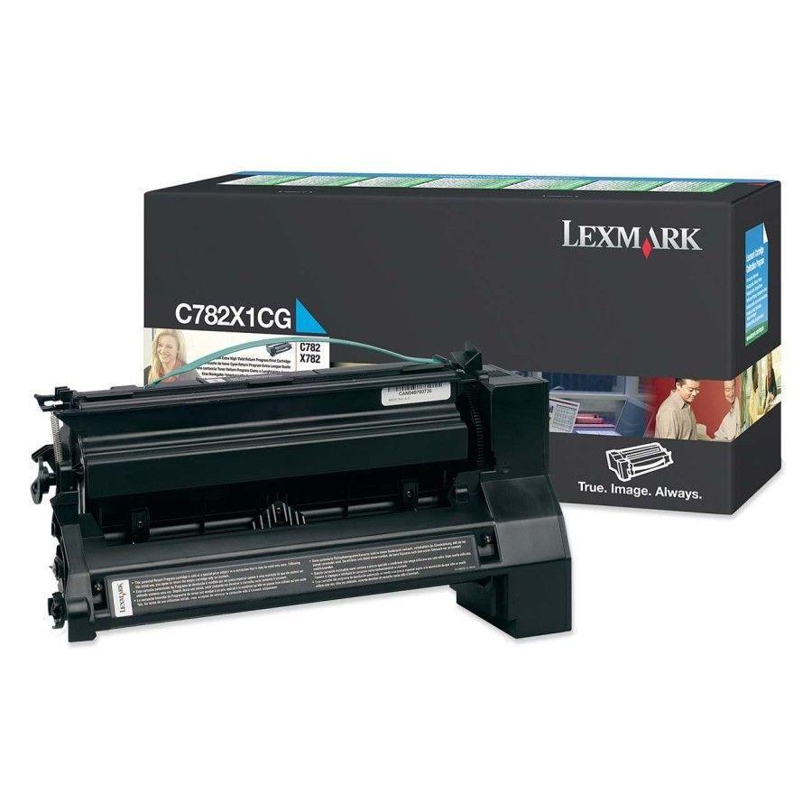 Toner Lexmark C782X1Cg Ciano 11271
