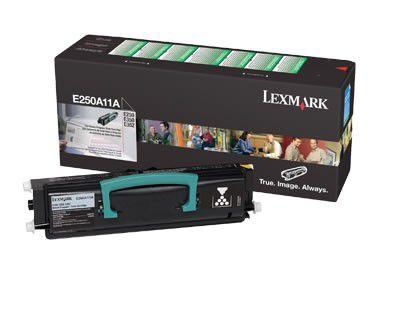 Toner Lexmark E250A11L Preto 10686