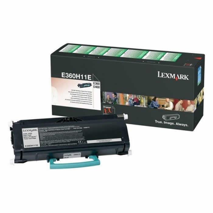 Toner Lexmark E360H11B Preto 20781