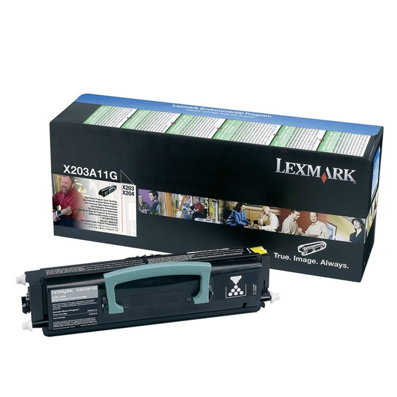 Toner Lexmark X203A11G Preto 14265