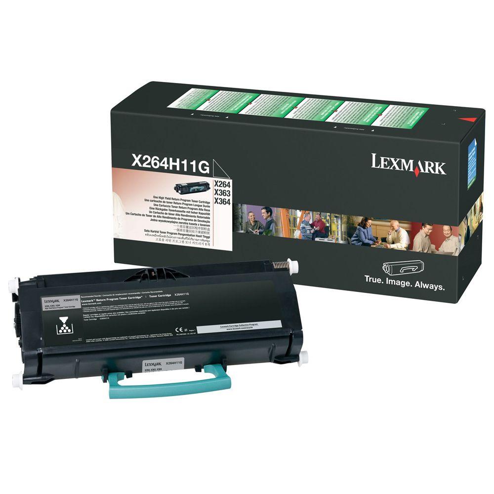 Toner Lexmark X264H11G Preto 14284