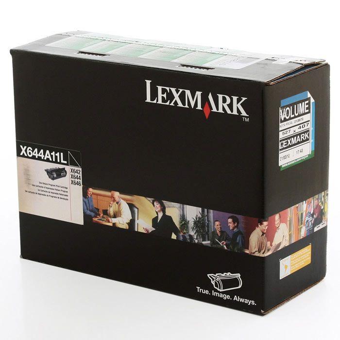 Toner Lexmark X644A11L Preto 11378