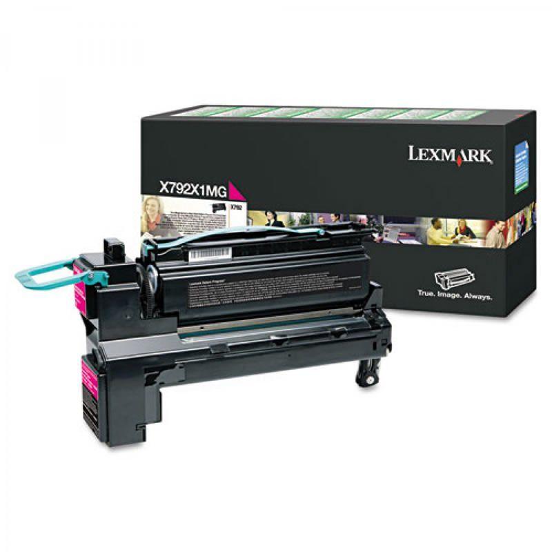 Toner Lexmark X792X1MG Magenta 24647