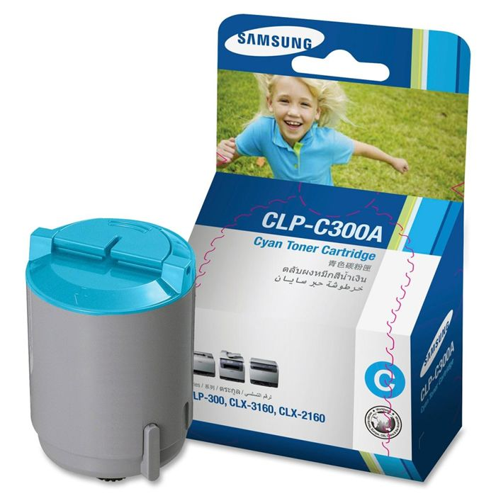 Toner Samsung CLP-C300A Ciano 18170