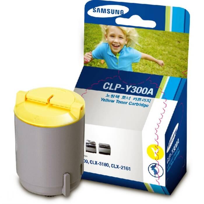 Toner Samsung CLP-Y300A Amarelo 18173