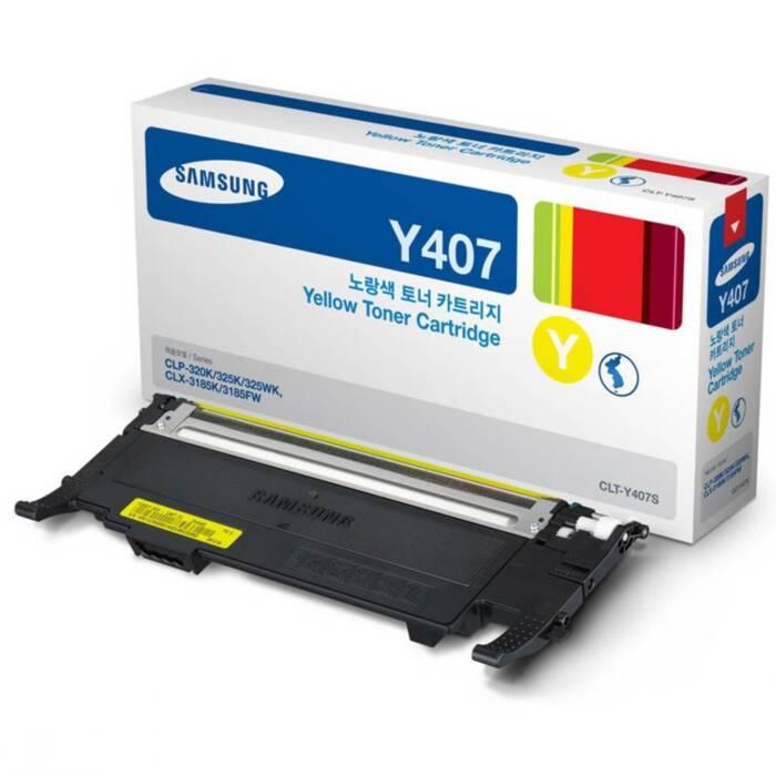 Toner Samsung CLT-Y407S Amarelo 16435