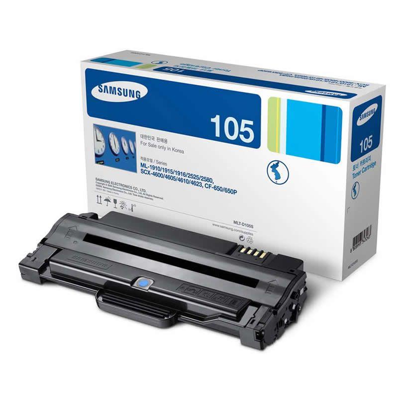 Toner Samsung MLT-D105S Preto 16442