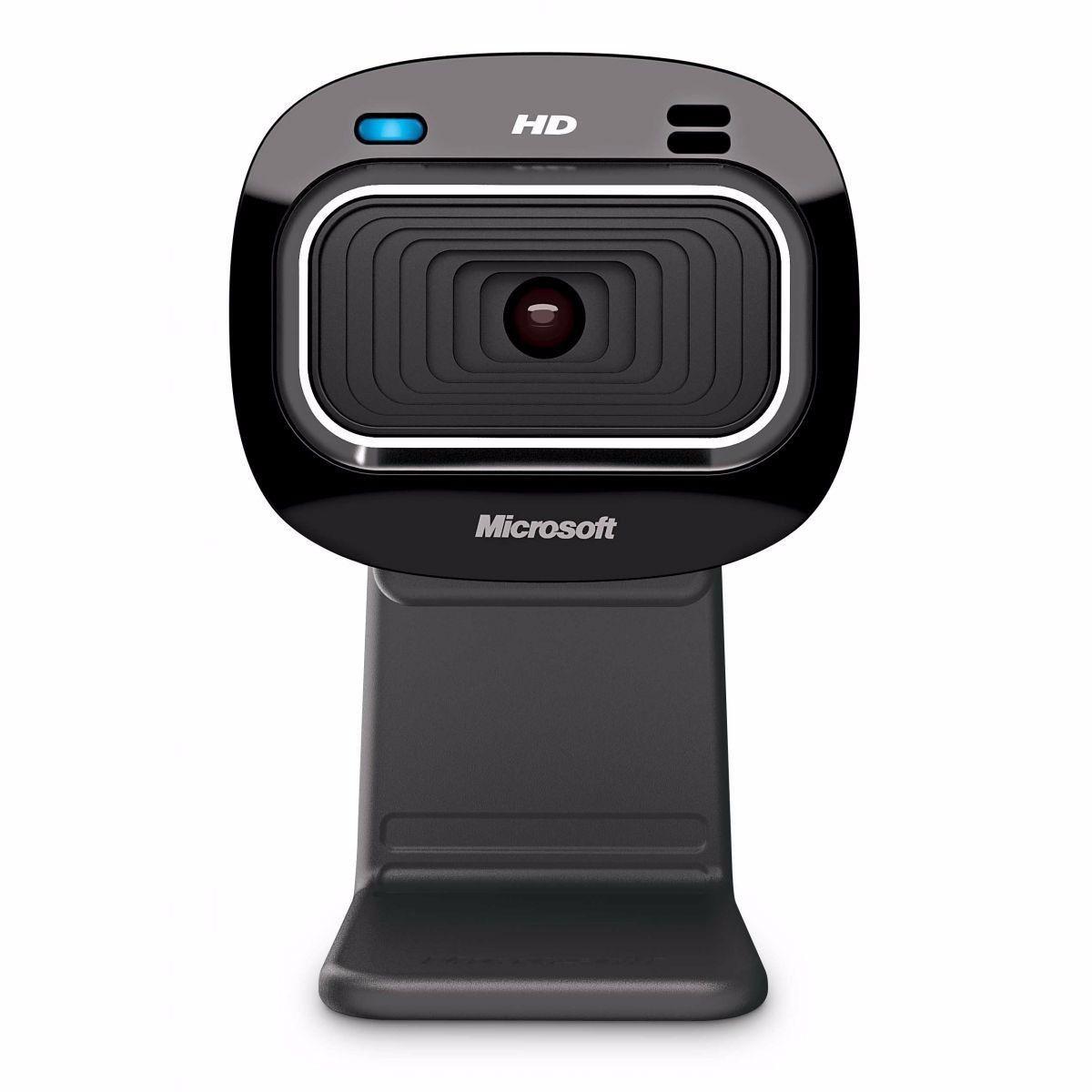 Webcam Microsoft HD-3000 USB Preta T3H00011 27694
