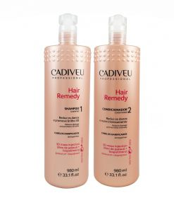 Kit Hair Remedy Profissional - Shampoo 980ml + Condicionador 980ml