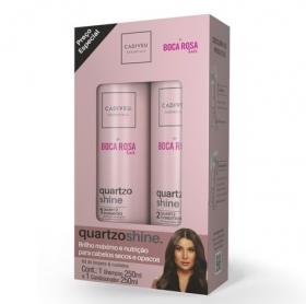 Imagem do produto: Kit Quartzo Shine By Boca Rosa Hair - Shampoo + Condicionador 250ml