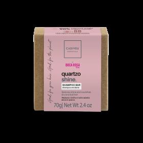 Imagem do produto: Shampoo em barra 70g - Quartzo Shine By Boca Rosa