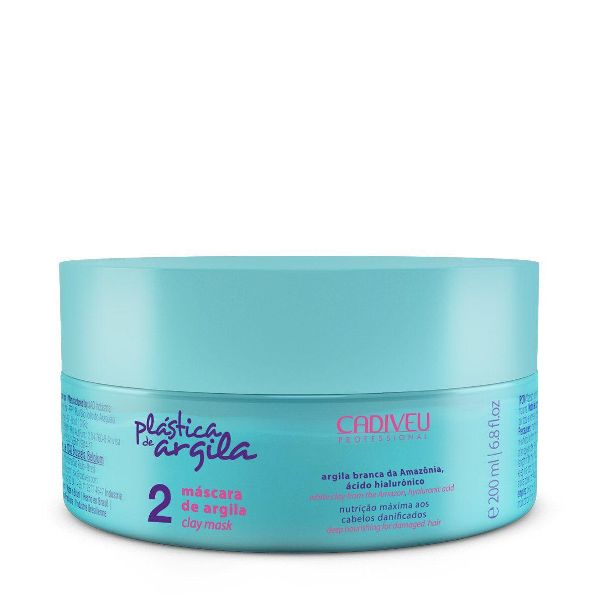 Plástica de Argila - Máscara de Argila 200ml