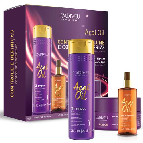 Açaí Oil - Kit Home Care