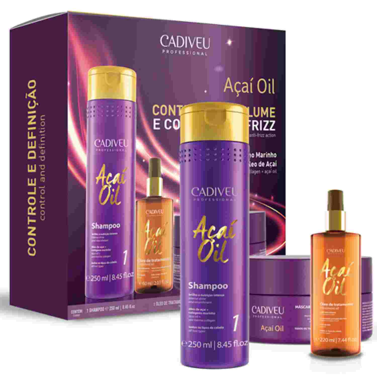 Açaí Oil - Kit Home Care