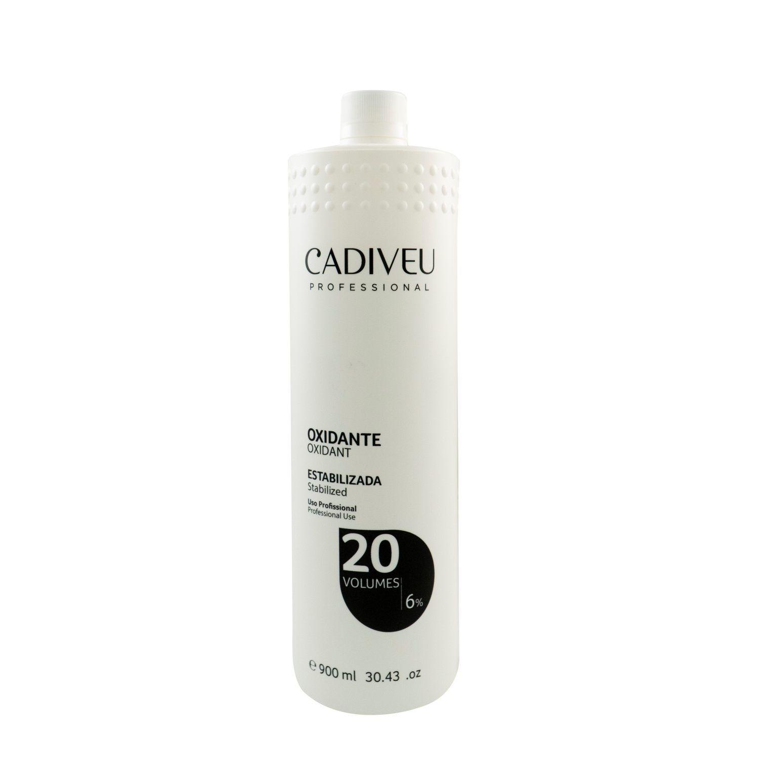 Água Oxigenada (OX Oxidante 20 Volumes 900ml) - Cadiveu Professional