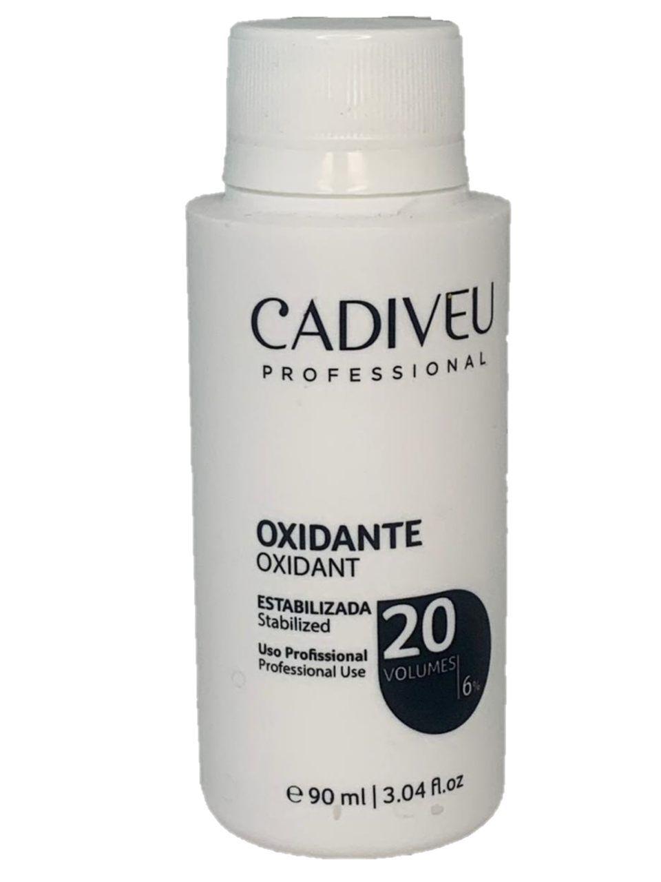 Água Oxigenada (OX Oxidante 20 Volumes - 90ml) - Cadiveu Professional