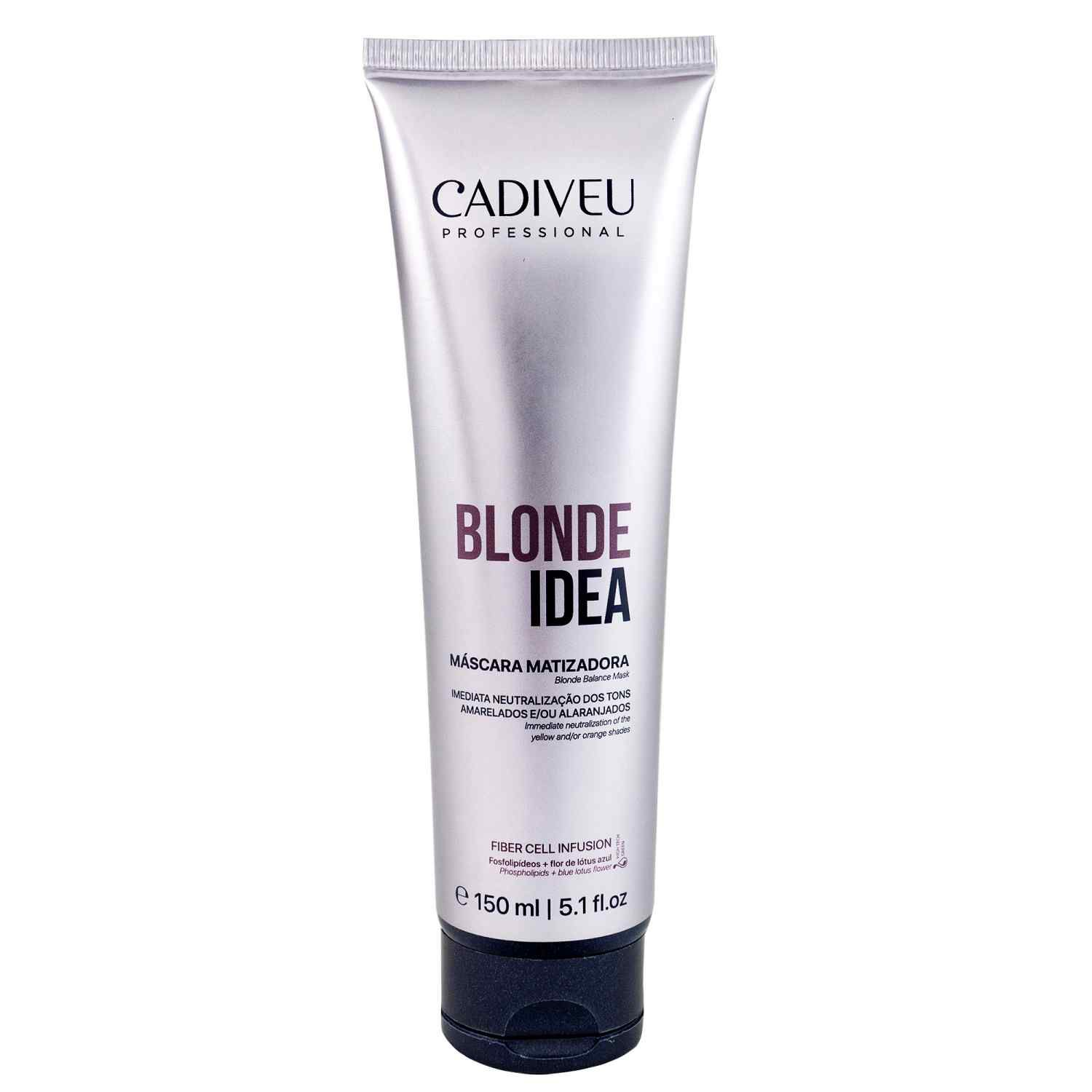 Blonde Idea - Máscara Matizadora 150ml - Cadiveu Professional