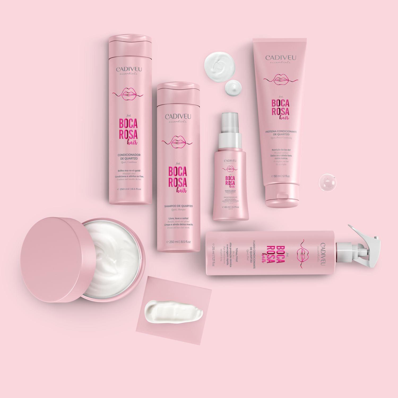 Kit Completo Boca Rosa Hair - Cadiveu Essentials