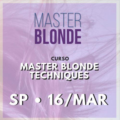Curso Master Blonde Techniques