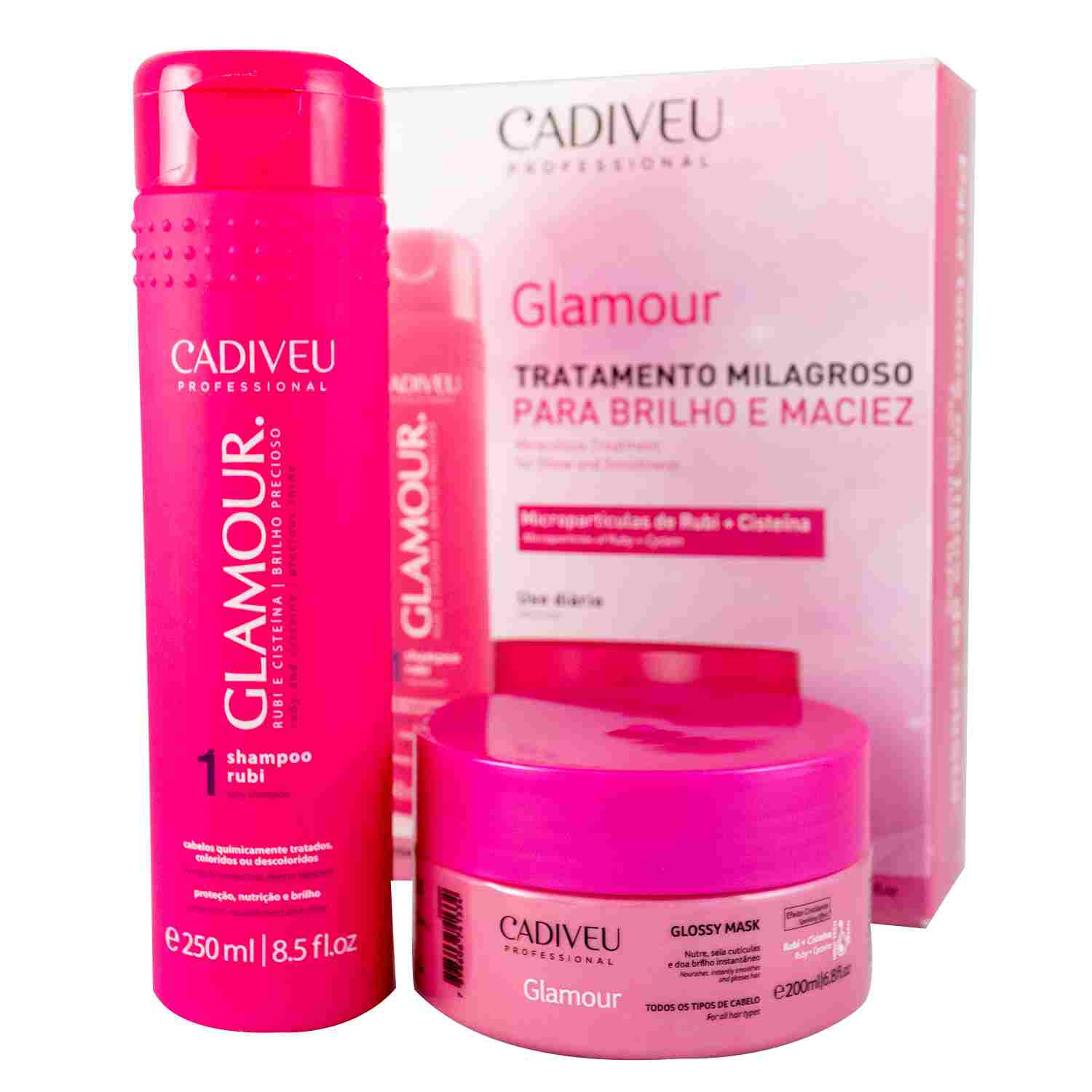 Glamour - Kit Home Care 02  - Cadiveu Professional