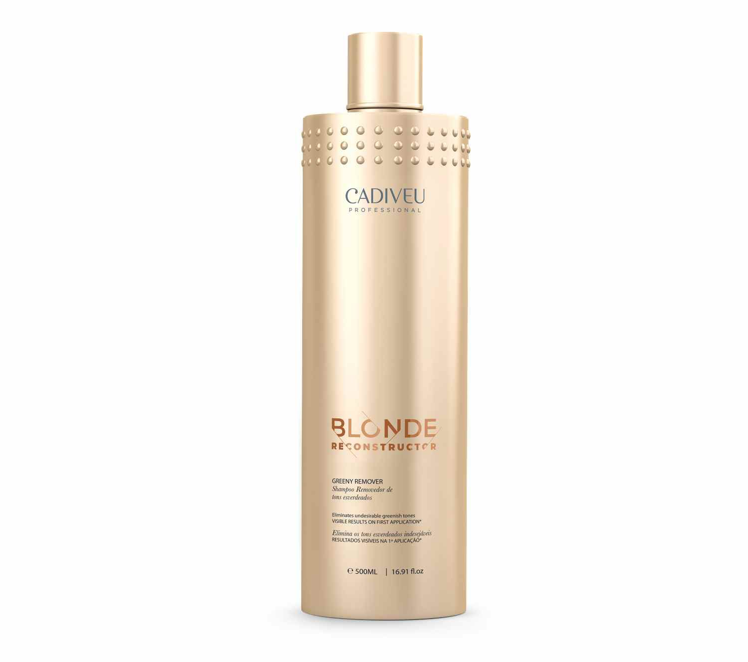 Greeny Remover 500ml Blonde Reconstructor - Cadiveu Professional