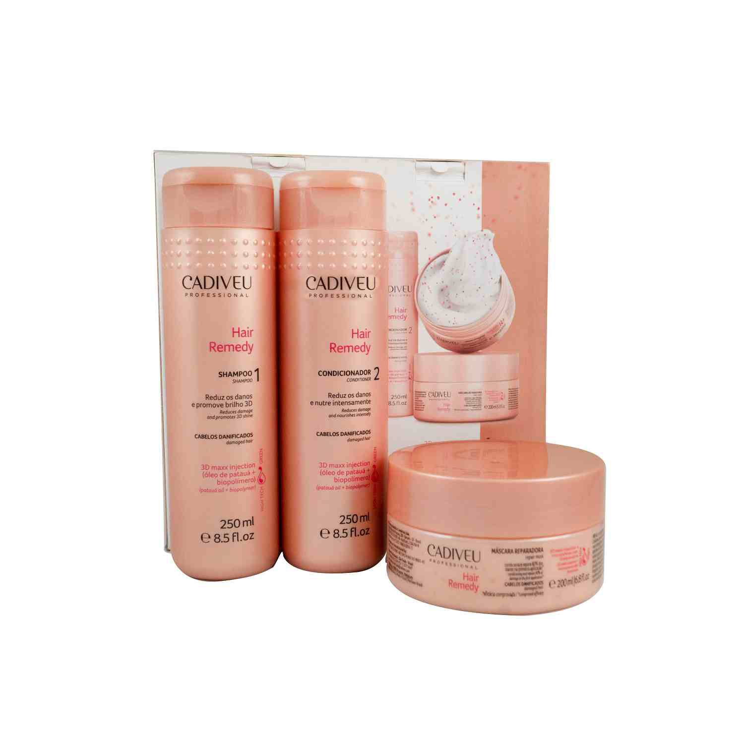 Hair Remedy - Kit Home Care - Cadiveu Professional
