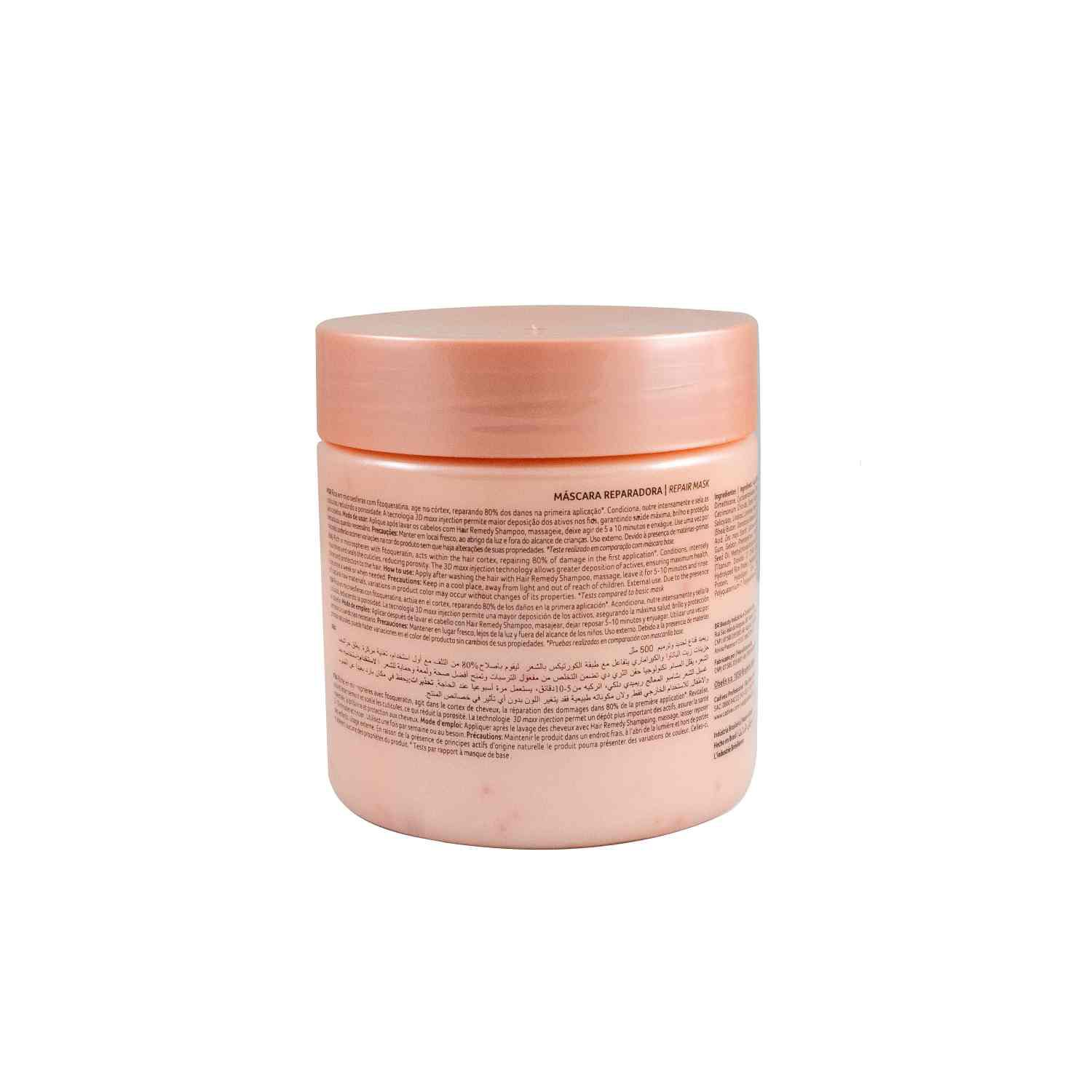Hair Remedy - Máscara Reparadora 500ml