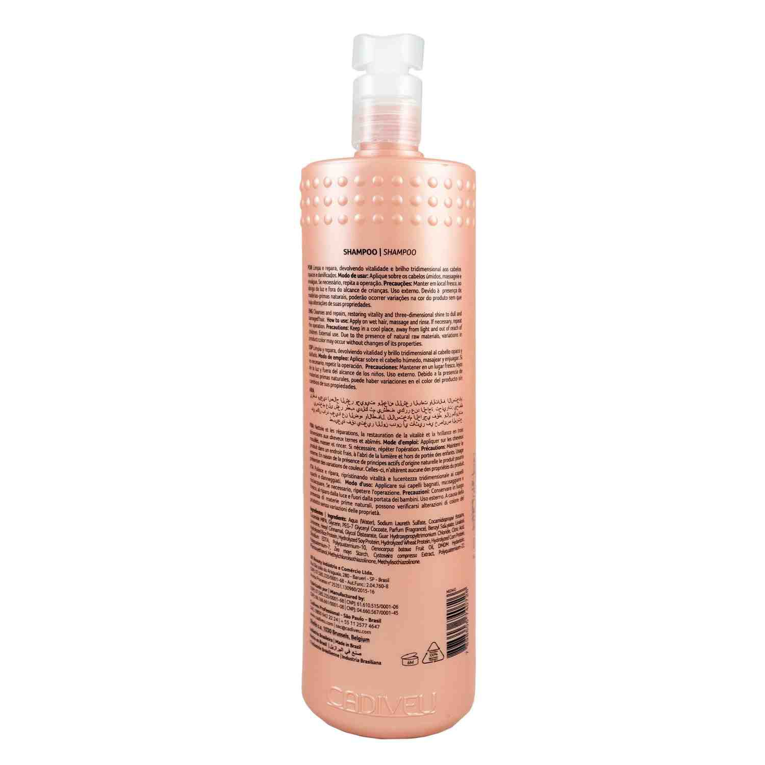 Hair Remedy - Shampoo Lavatório 980ml