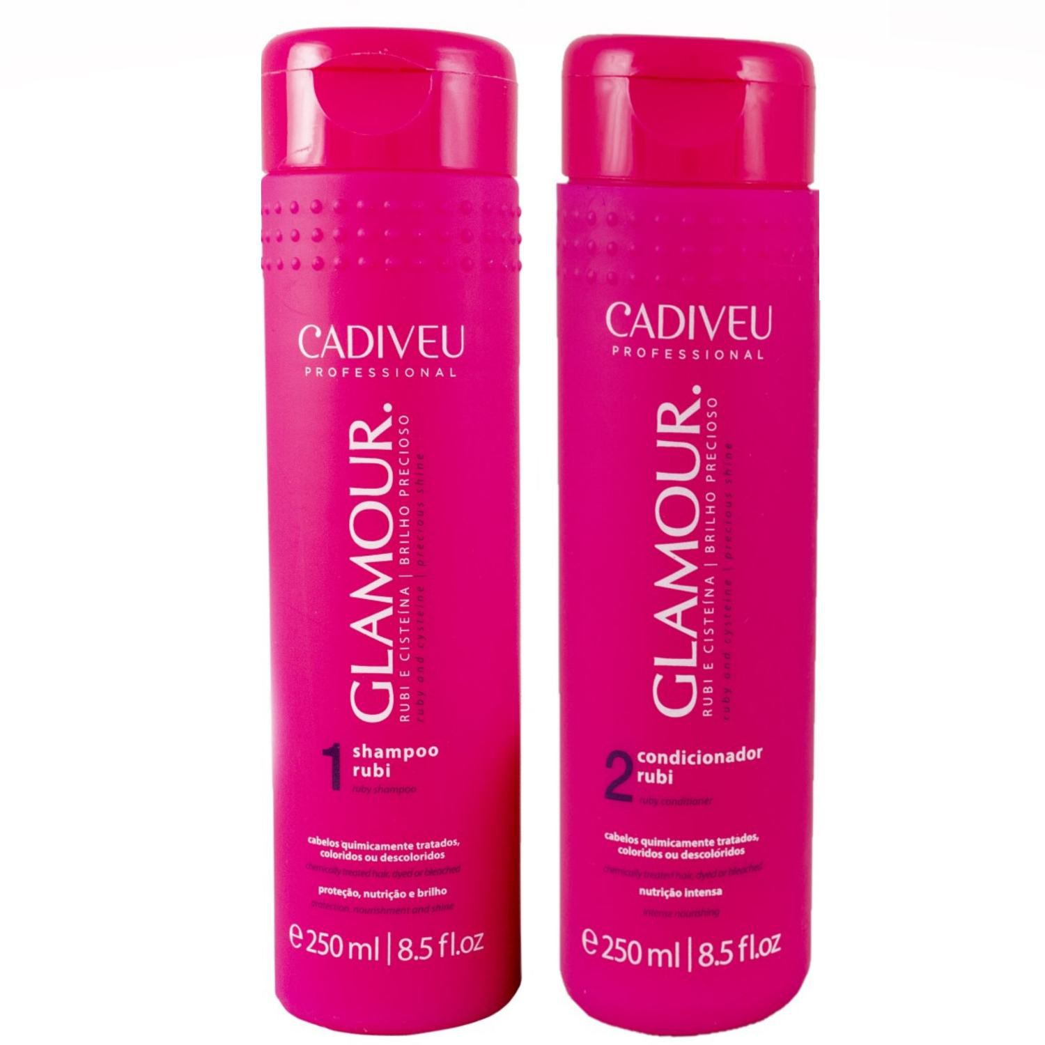 Kit Glamour Shampoo e Condicionador Home Care
