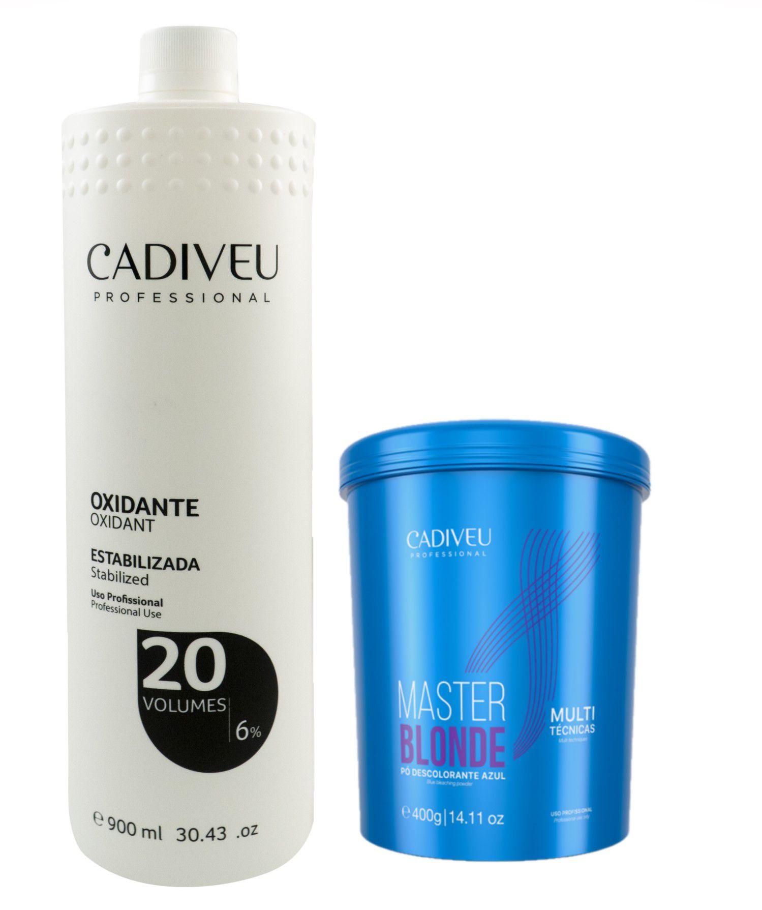 Kit Master Blonde - Cadiveu Professional