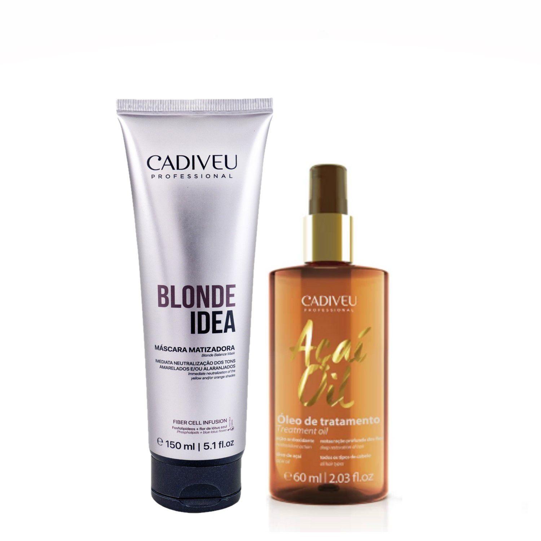 Kit Matizador Blonde Idea I - Cadiveu Professional