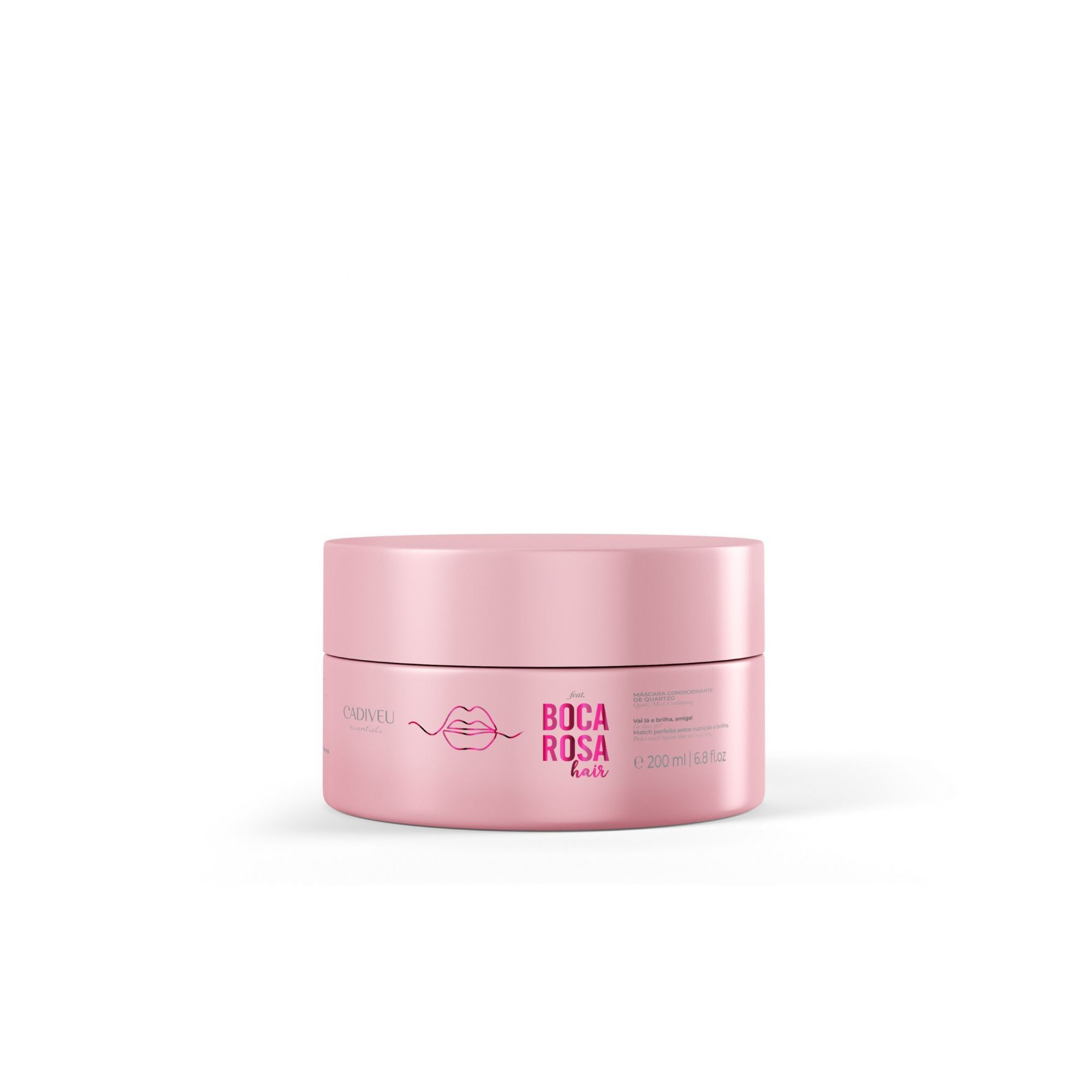 Máscara Condicionante de Quartzo 200ml - Boca Rosa Hair