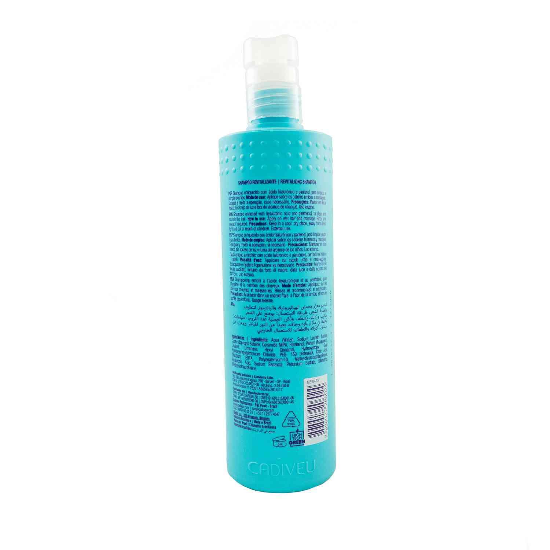 Plástica de Argila - Shampoo Revitalizante 500ml - Cadiveu Professional