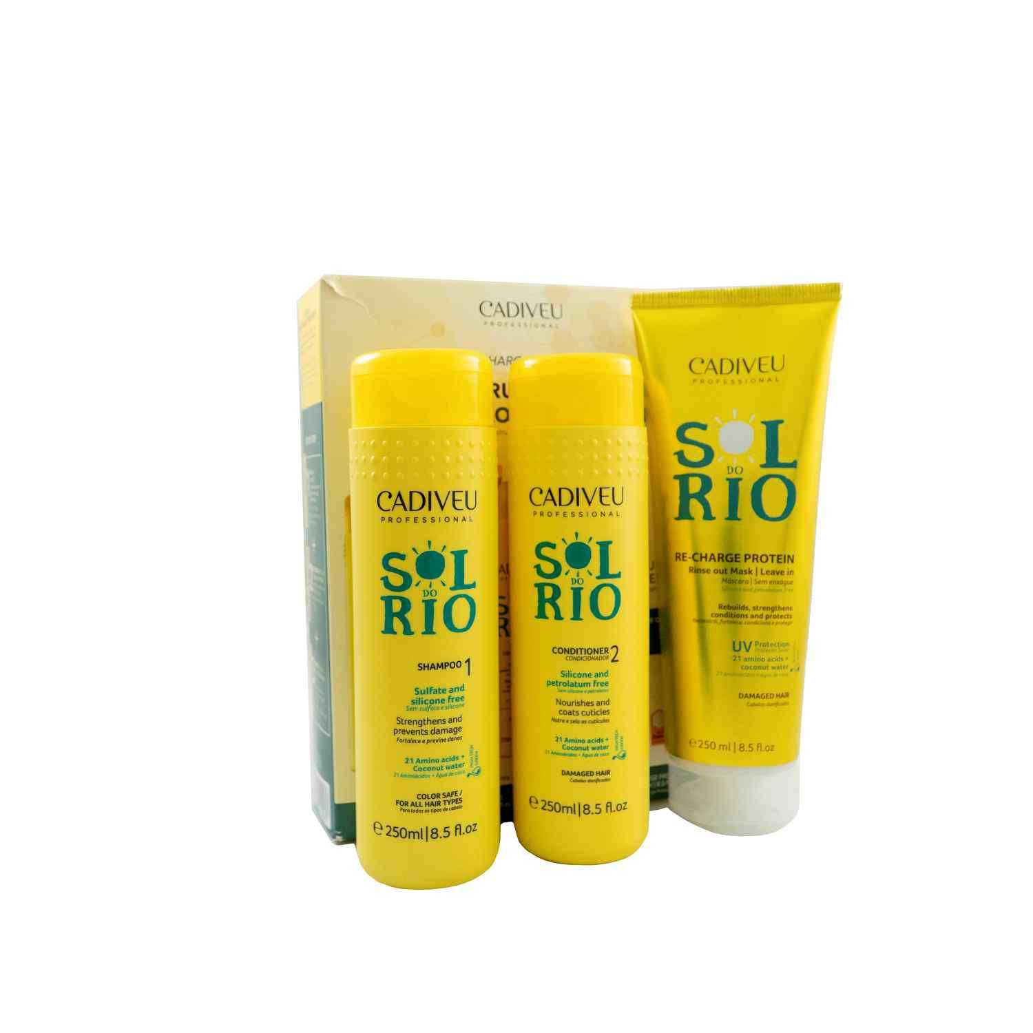 Sol do Rio - Kit Home Care - Cadiveu Professional