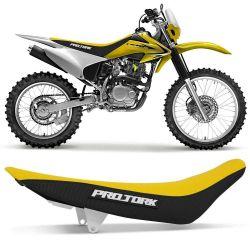Banco Completo CRF 230 Protork Amarelo Neon