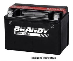 Bateria Titan Biz Bros Xre Factor Fan Factor Crypton Brandy - BY-TZ6L-BS
