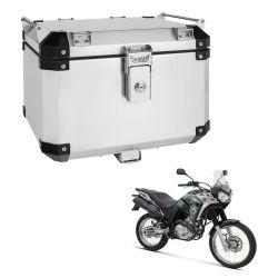 Bauleto Atacama 43L Tenere 250 Aluminio Escovado Top Case Bráz