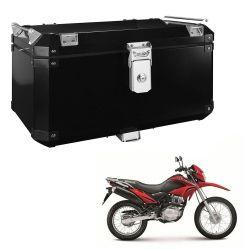 Bauleto Atacama 55L Bros 150 09/... Aluminio Top Case Preto Bráz
