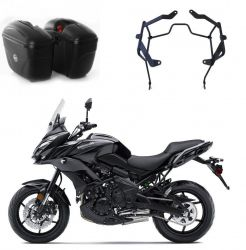 Bauleto lateral Givi E21N + Suporte Lateral Versys 650 Chapam
