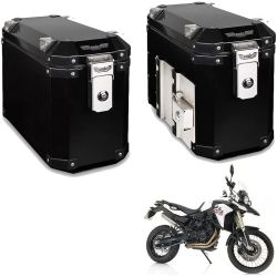 Bauletos Laterais 33L F 800 GS Preto Bráz