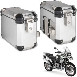 Bauletos Laterais 33L R 1200 GS 05/12 Escovado Bráz