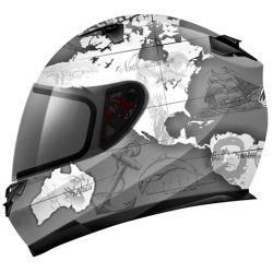 Capacete MT Blade Global Adventure Grey
