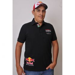 Camiseta Polo Red Bull Stratos Powered